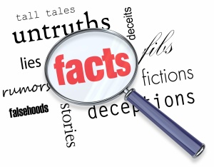 facts and falsehoods