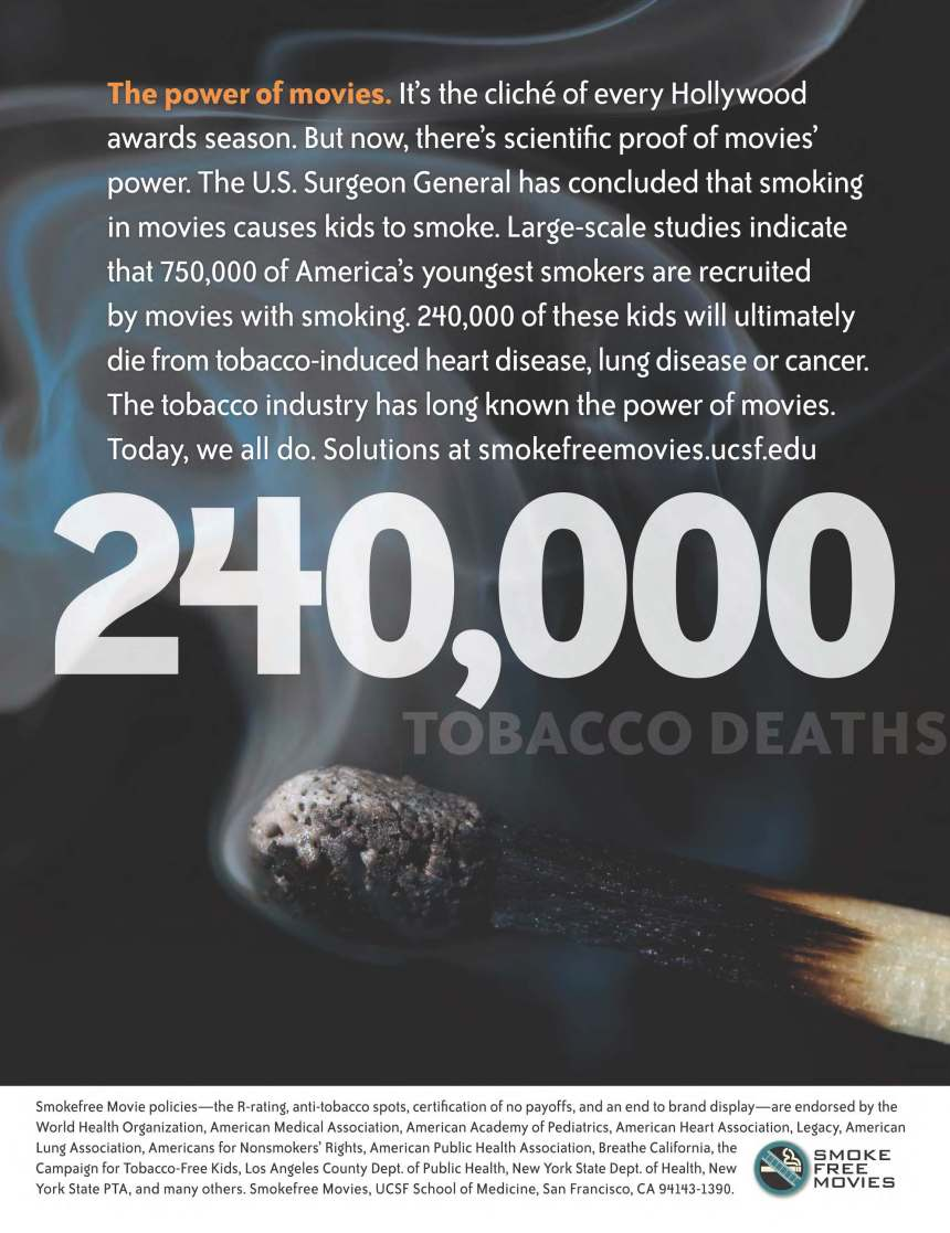 Movies Have the Power. And Big Tobacco Knows It.