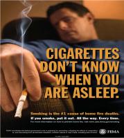 SmokingSleeping