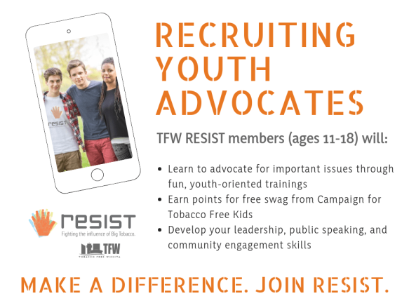 TFW RESIST - Member Recruitment